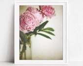Peony Print, Flower Still...