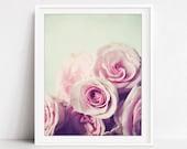 Roses Print - Flower Phot...