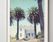 Farmhouse Print, Palm Tre...