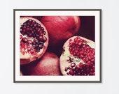 Pomegranate Art Print, Fo...