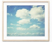 Cloud Photography Print, ...