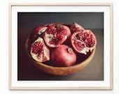Pomegranate Print, Fruit ...