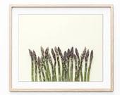 Asparagus Print, Kitchen ...