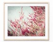 Botanical Print Pink Tea ...