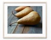 Pear still life photograp...