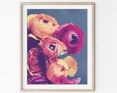 Ranunculus Flower Still L...