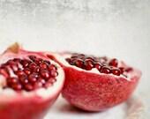 Pomegranate Print Fruit S...