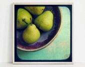 Pear Still Life Print, Fo...
