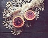 Blood Orange Fruit Still ...