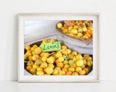 Fruit Photography, Lemon ...