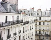 Paris Photography Gray Wh...