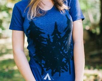 Outdoor Gift for Her, Graphic Tee Women, Yosemite Park Adventure Tshirt, Travel Gift, Clothing Gift, Wanderlust Camping Shirt, Womens Tshirt