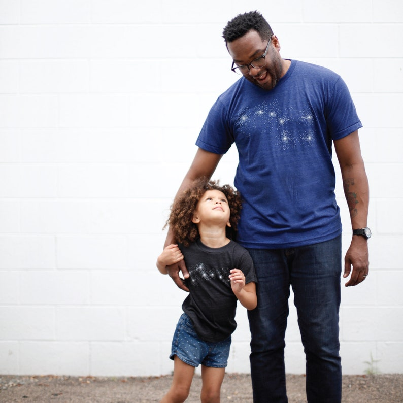 3db61c36 Matching Tshirt Set Big Dipper Little Dipper Father Son | Etsy