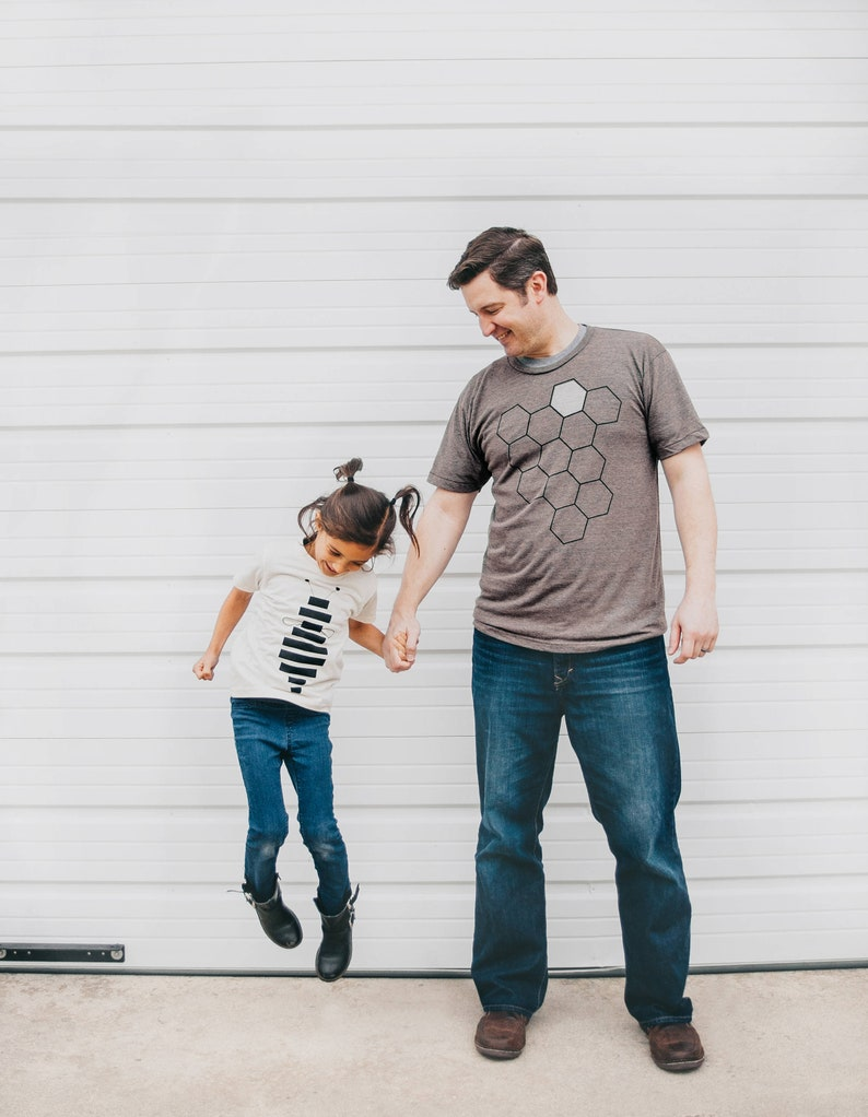 Father Daughter Matching Tees New Dad and Baby Coming Home image 0