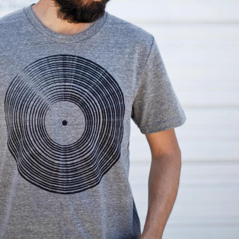 cda9026714a Vinyl Record Shirt Men s T-Shirt Rock Music Gift Record