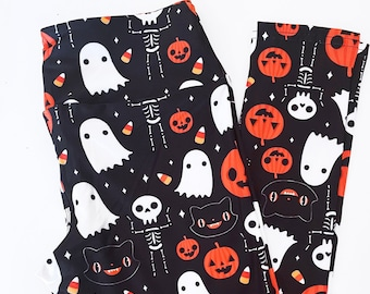 Halloween Leggings - Size S-3X