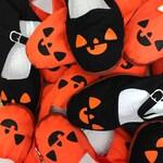 Pumpkin Shoes - Jack O Lantern Flats Mary Janes- SIZE 5, 6, 7, 8, 9, 10, 11 WOMENS