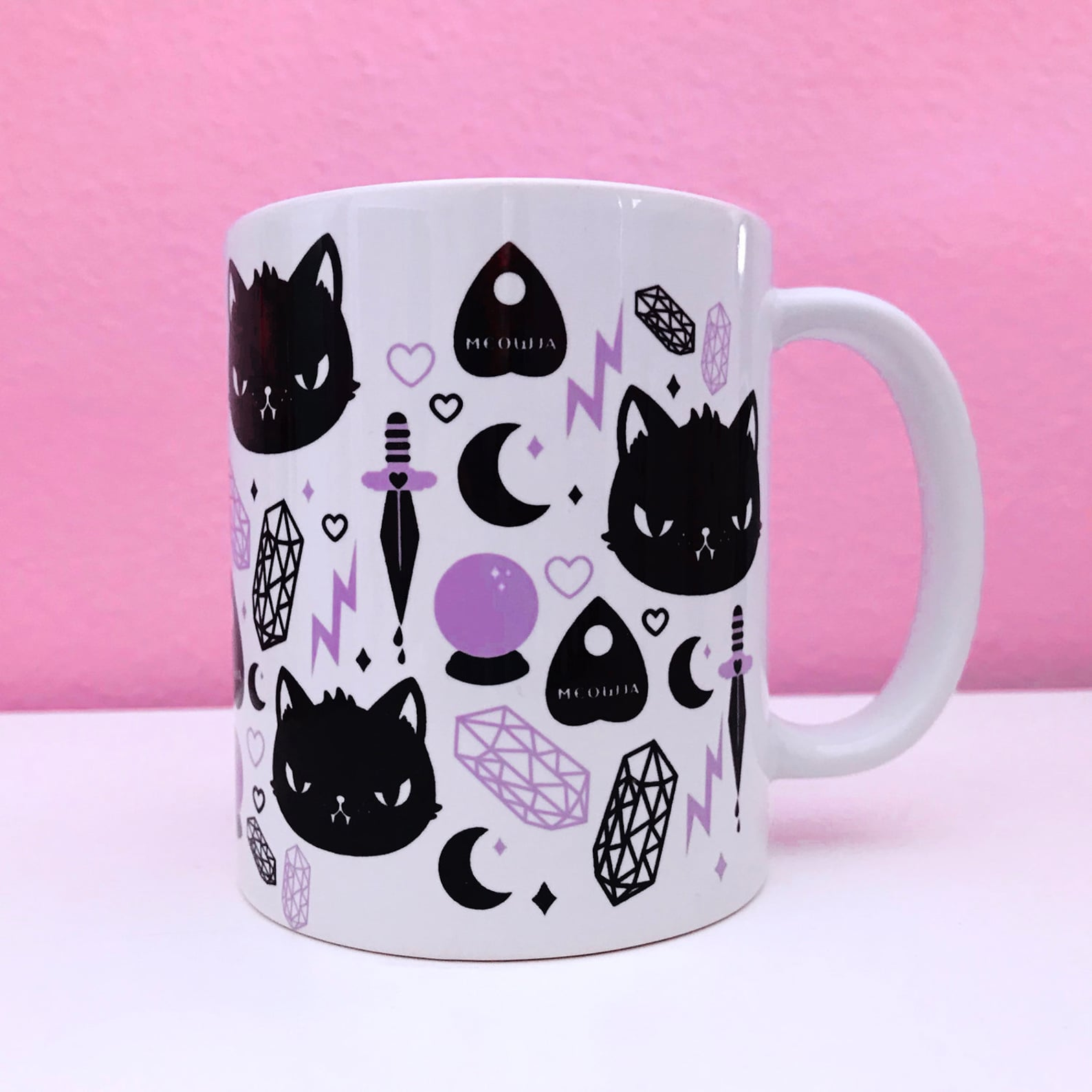 Cat Magic Ceramic Mug