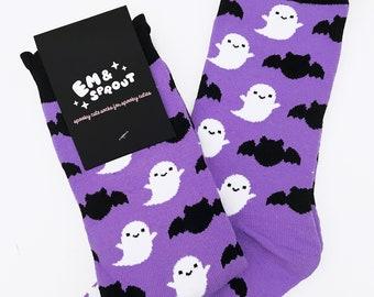 Bat & Ghost Socks