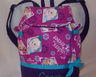 f963c52893a Frozen Sisters Forever back pack school bag tote book bag great for all  ages even diaper bag great for birthday gift College too