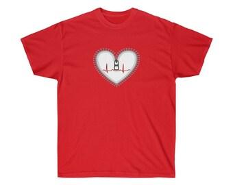 Zipper Heart Warrior - Unisex T-Shirt