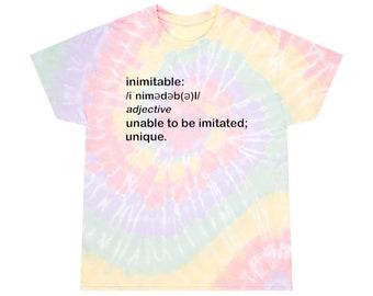 Inimitable Spiral Tie-Dye Tee