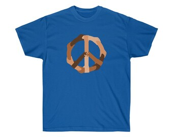 Peace Comes in All Colors - Unisex T-Shirt