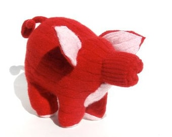 A Red Cashmere Piglet