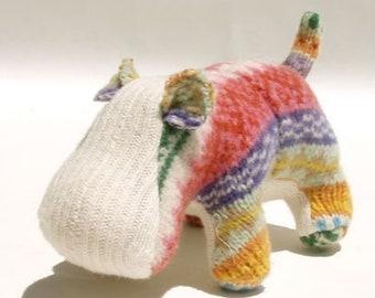 A Multicolor Hippopotamus