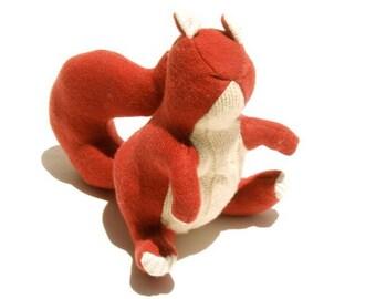 A Merino Wool Squirrel