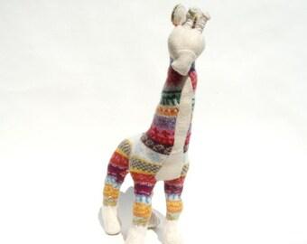 Tutti Fruiti Lambswool Giraffe