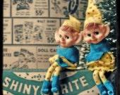 Shiny Brite Sprites - Set of 6 - Holiday \/ Christmas Cards
