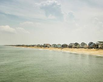Beach Photography, Ocean Print, Nautical Wall Decor, Seascape Art, Seashore, Coast Photo, Beach Cottage Decor, Summer Travel - Coastline