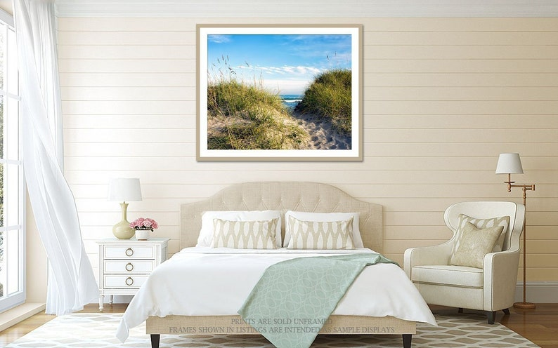 Beach Decor Nature Canvas or Print Sea Photography Ocean image 0