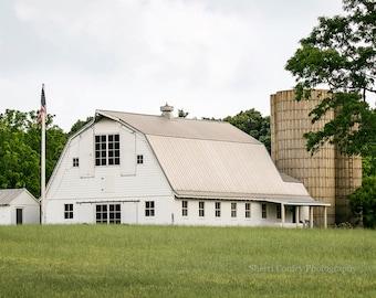 Barn Photograph, Canvas Wrap or Print, Rustic Home Decor, Farm Decor, Abandoned, Rural, Nature, Farmhouse Art, Country Decor - Manakin Barn