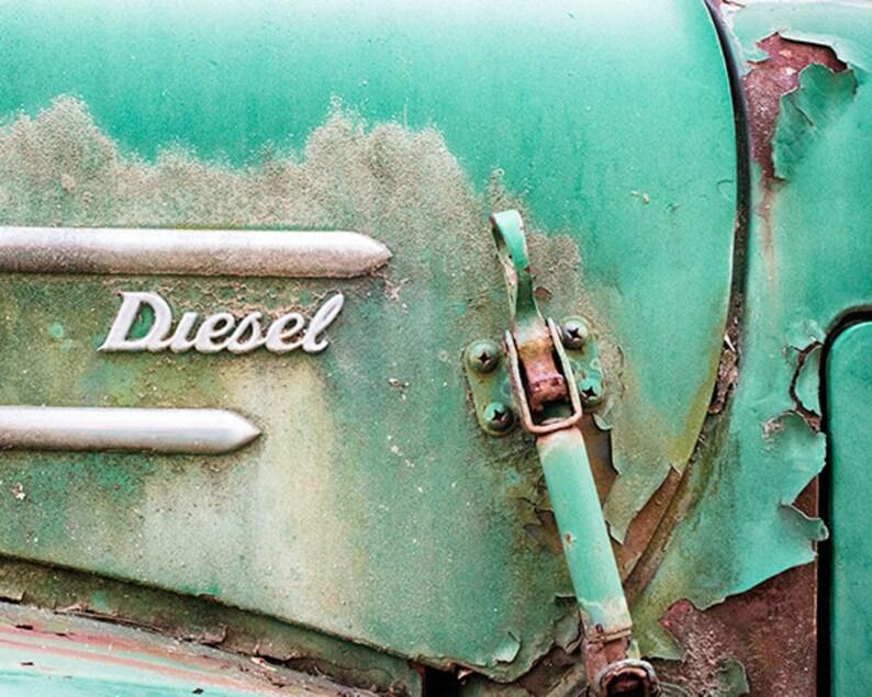 Truck Photo or Canvas Vintage Emblem Art Antique Vehicle image 0