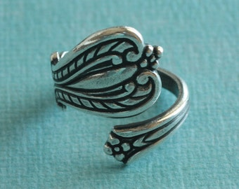 Silver Spoon Ring Finding 2746