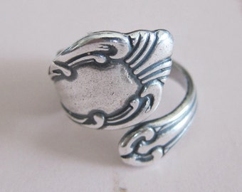 Silver Spoon Ring Finding 2834