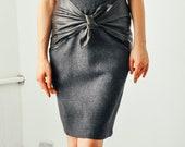 Vintage Gianni Versace Leather Skirt