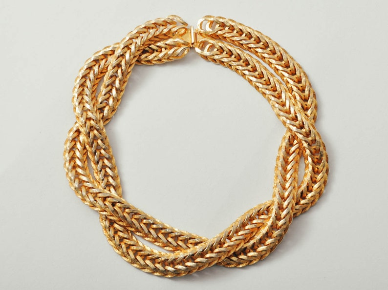 Vintage MiMi Di N Braided Necklace image 0