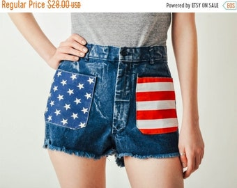ON SALE - Vintage Acid Wash American Shorts