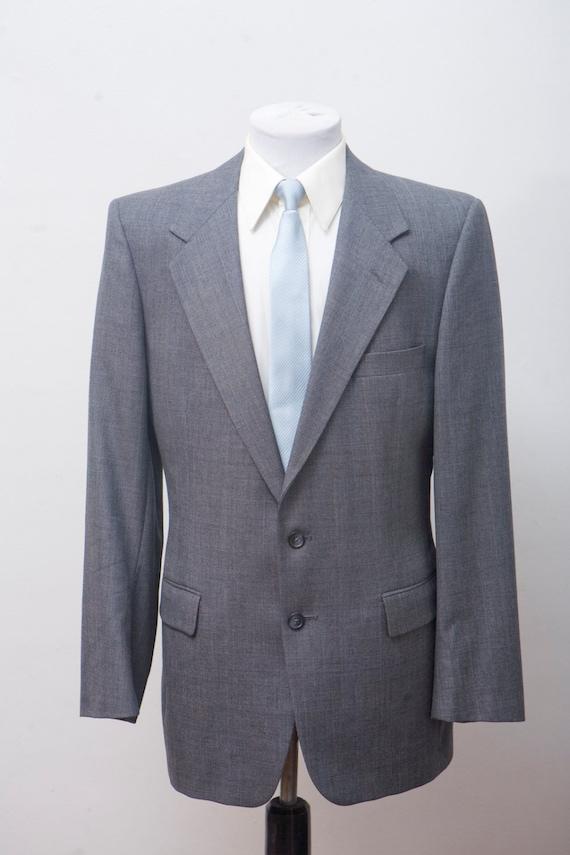 Men's Givenchy Suit / Vintage Grey Blazer and Trou