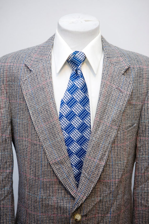 Men S Blazer Vintage Austin Reed Tweed Jacket Etsy