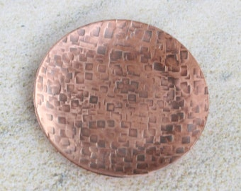 Copper texture trinket dish 2