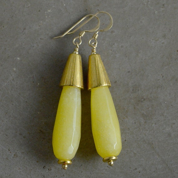 Annabelle Earrings in Sun by Catherine Nicole