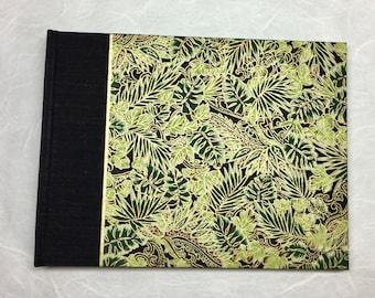 Custom Wedding Album - Wedding Photo Album, Wedding Memory Book, Guest Book, Photo Booth Album,Maui Wedding,Photo Album in Green Banana Leaf