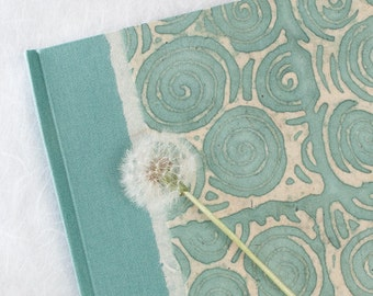Journal - Guest Book Cool Blue Circles - Perfect for Wedding Guestbook, Diary, Travel Journal