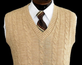 88f278216 Cable Knit Sweater Vest