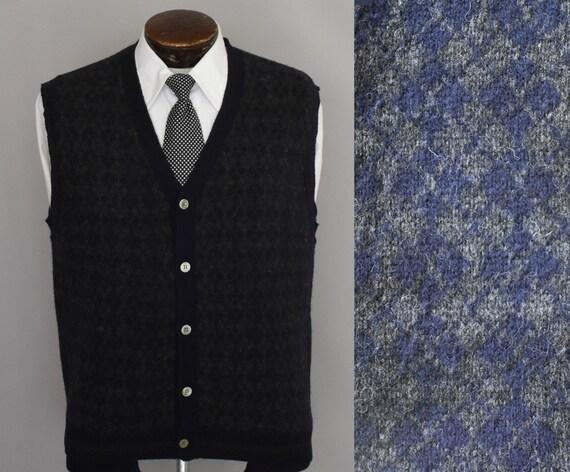 Argyle Sweater Vest, 20s 30s Style Vest, Vintage 9