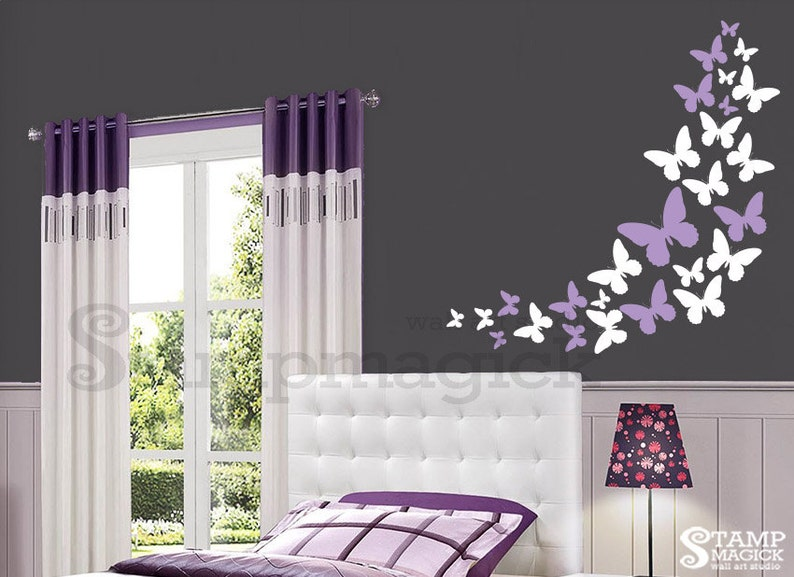 Lots of Butterflies Wall Decal  Butterflies Wall Decal for image 0